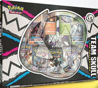 Pokémon - Box Equipe Skull c/ broche