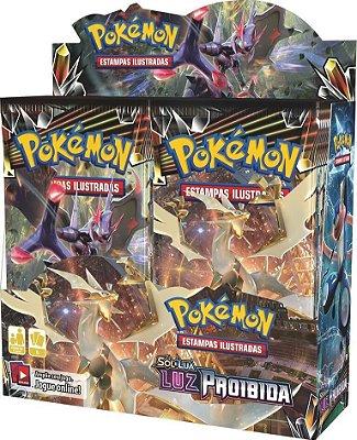 Pokémon - Booster Box Sol e Lua 6 - Luz Proibida