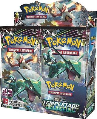 Pokémon - Booster Box Sol e Lua 7 - Tempestade Celestial