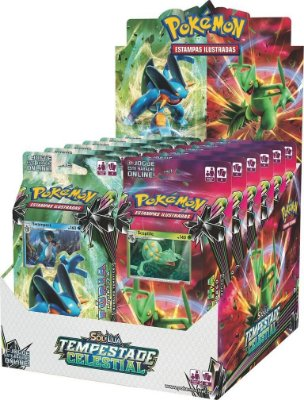 Pokémon - Deck Sol e Lua 7 - Tempestade Celestial