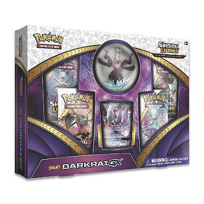 Pokémon - Box Darkrai-GX com miniatura