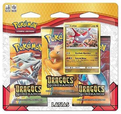 Pokémon - Blister Triplo - Minicoleção Dragões Soberanos