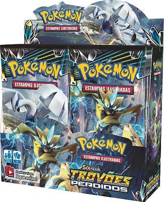 Pokémon - Booster Box Sol e Lua 8 - Trovões Perdidos