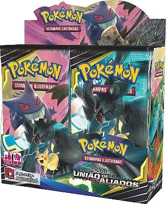 Pokémon - Booster Box Sol e Lua 9 - União de Aliados