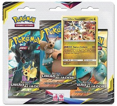 Pokémon Blister Triplo Sol e Lua 9 - União de Aliados
