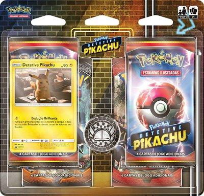 Blister Triplo - Detetive Pikachu