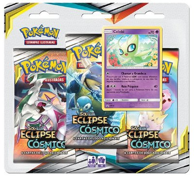 KIT 2 PACKS TRIPLOS - ECLIPSE CÓSMICO - CELEBI / VICTINI
