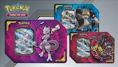 Pokémon - Kit 3 Latas Parceria Poderosa