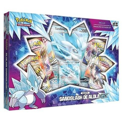 POKEMON BOX SANDSLASH DE ALOLA-GX
