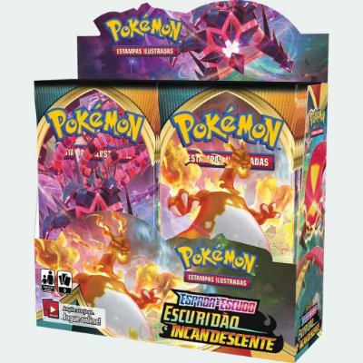 BOOSTER BOX ESCURIDÃO INCANDESCENTE
