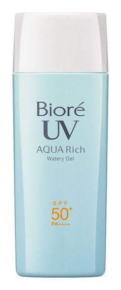 Protetor Solar Bioré Aqua Rich  Waterly Gel 90ml SPF50+ PA++++