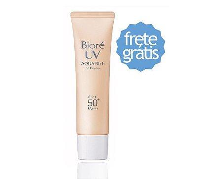 Protetor Solar Bioré Bb Cream Aqua Rich 33g Spf50 Pa++++
