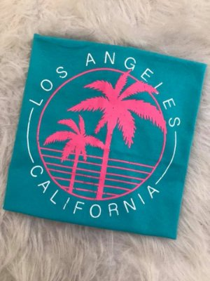T-shirt Los angeles California