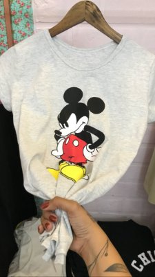T-shirt Mickey furious