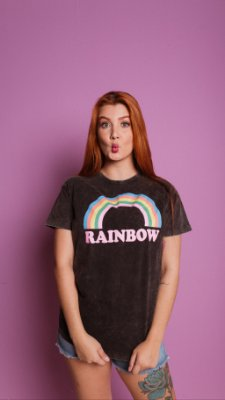 T-shirt Max  RAINBOW ESTONADA