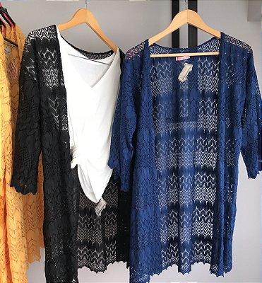 Kimono Renda crochê  II