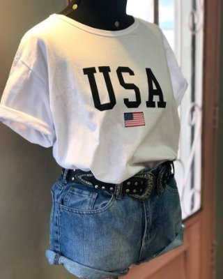 T-shirt Max USA lovers