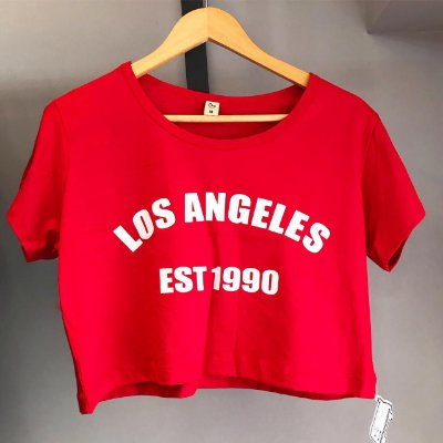 Cropped com  manga Los angeles est 1990