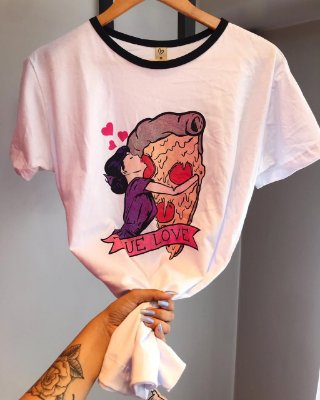 T-shirt MAX TRUE LOVE pizza