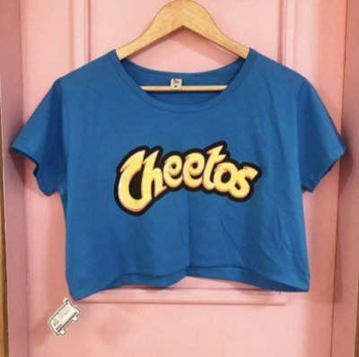 CROPPED com manga CHEETOS