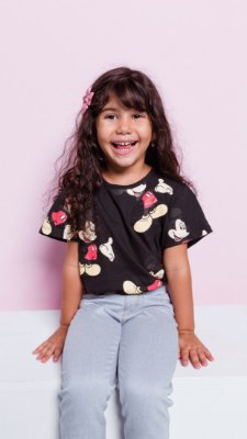 T-shirt marriezinha MICKEY PRINT