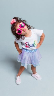 T-shirt MARRIEZINHA BARBIE rainbow
