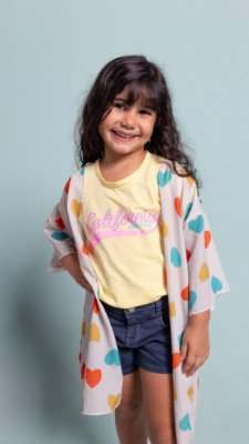 T-shirt INFANTIL  California dreaming