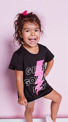 T-shirt Marriezinha GIRLS GONNA FLY