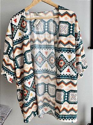 Kimono ETNICO FUNDO OFF