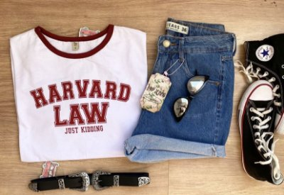 T-shirt MAX  HAVARD LAW