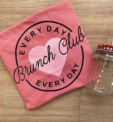 T-shirt comum BRUNCH CLUB