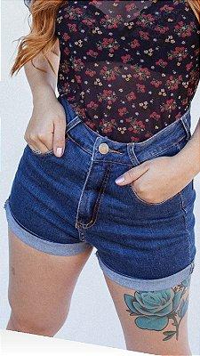 Short Mom jeans santorine