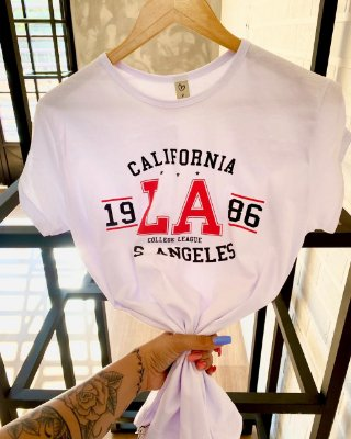 T-shirt Max L.A CALIFORNIA college LEAGUE