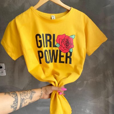 T-shirt MAX GIRL POWER