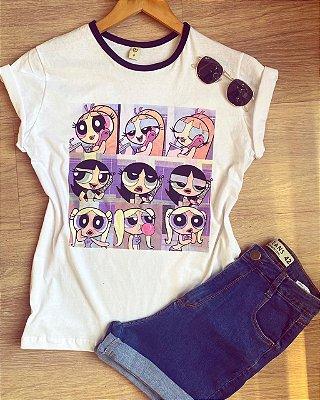 T-shirt max meninas super poderosas RETRÔ