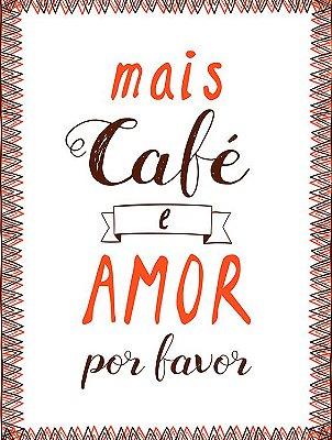 Mais café e amor