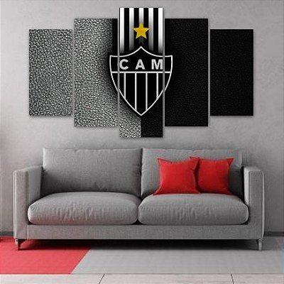 Atlético Mineiro FC - 5 PEÇAS MDF