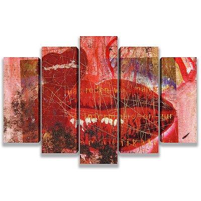 Kiss - 5 Telas Canvas