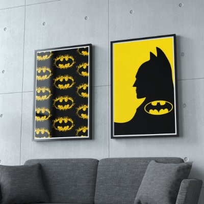 Batman - KIT 2 QUADROS