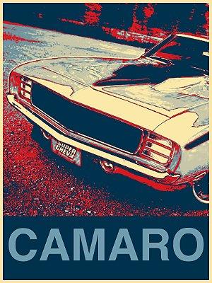 Tela Carro Camaro Vintage
