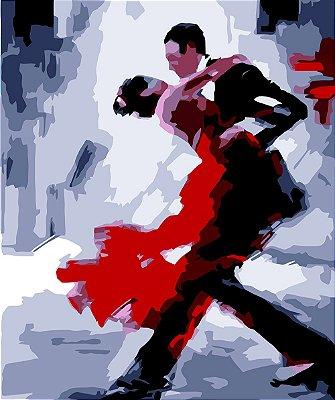 Tela Casal Dançando arte