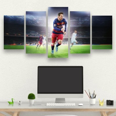 FIFA - 5 Telas Canvas