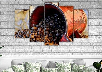 CAFÉ- 5 Telas Canvas