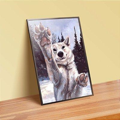 Lobo - Emoldurado