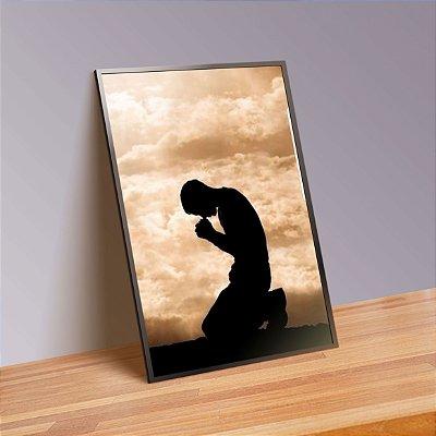 Oração - Emoldurado