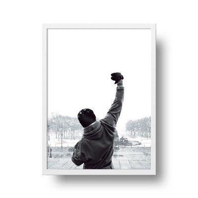 Rocky Balboa - Emoldurado