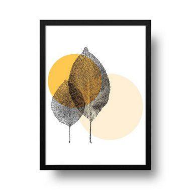 Folhinhas minimalista - Emoldurado
