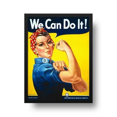 We can do it - Emoldurado