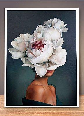 QUADRO WOMEN FLOWERS