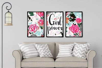 GIRL POWER -  KIT 3 TRIOS